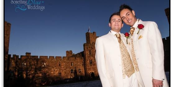 Dan & Matt   Peckforton Castle   Cheshire   December 30th 2014