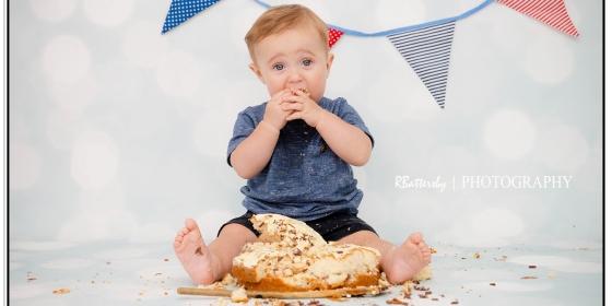 Toddler Photography | Cake Smash | Jamie | August 2015