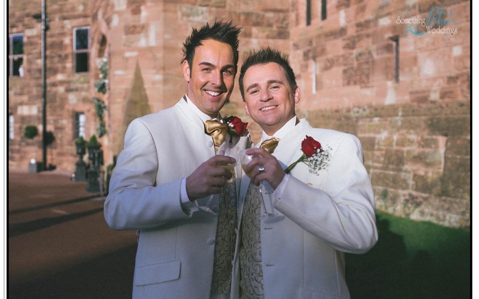 Wedding | Peckforton Castle | Dan & Matt