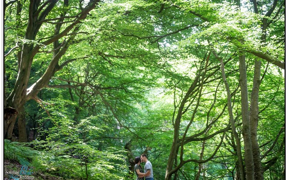 Pre Wedding   Chevin Forest Park   Shona & Adam