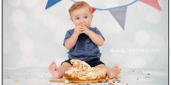 Toddler Photography | Cake Smash | Jamie | August 2015