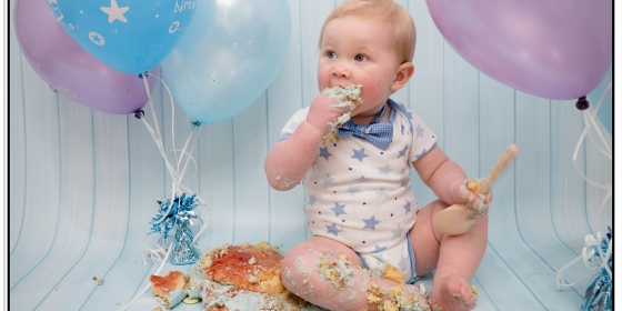 Toddler Photography | Cake Smash | James | March 2016