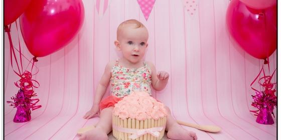 Toddler Photography | Cake Smash | Molly | April  2016