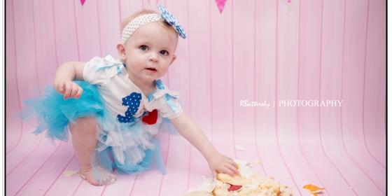 Toddler Photography | Cake Smash | Alice | May 2016